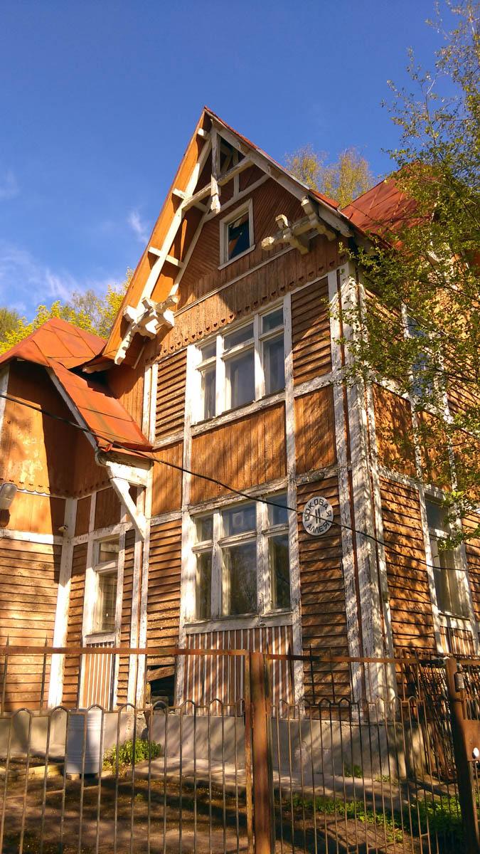 Дом П. И. Гозе - Дача М. Г. Орловой