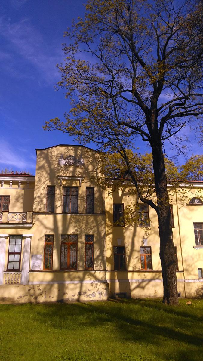 Дом В. М. Бехтерева. Архитектор: Девишин М. И.Год постройки: 1914.