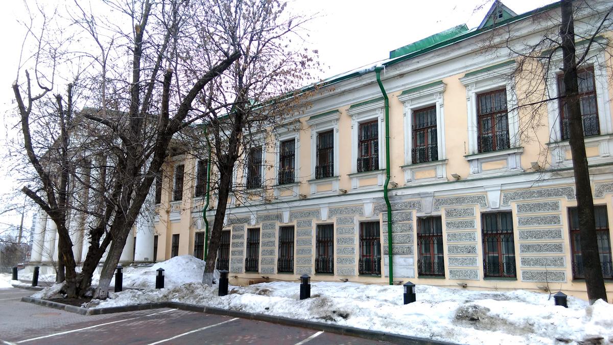 ... и осмотрел Особняк купца И. Н. Рыбникова, XIX век.