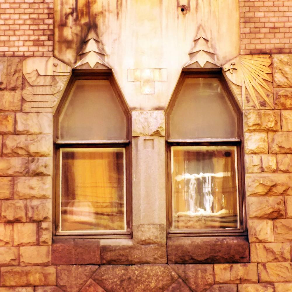 Стремянная ул., 11. Знаменитый Доходный дом архитектора Бубыря и причудливые звери на фасаде.