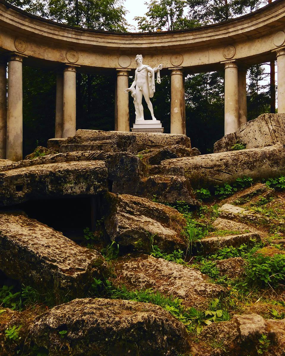 Колоннада Аполлона. 1782-1783, арх. Камерон Ч