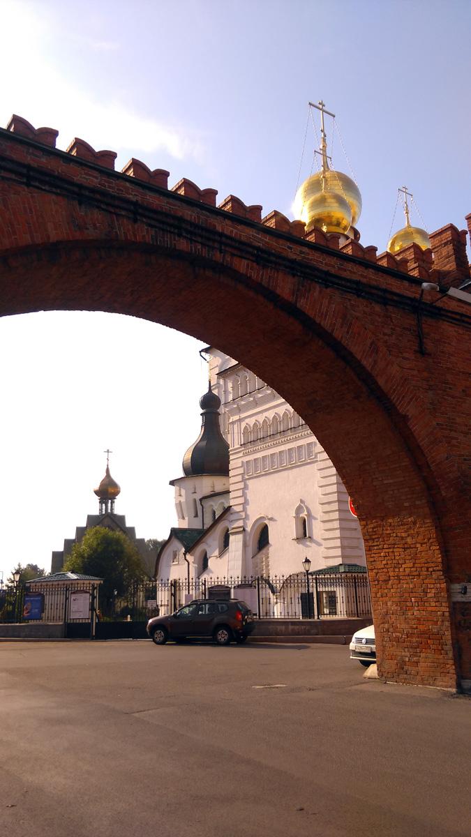 Кусочек Москвы недалеко от Московского вокзала...