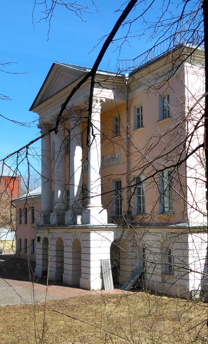 12 апреля. Городская усадьба Ф.А. Ардалионова