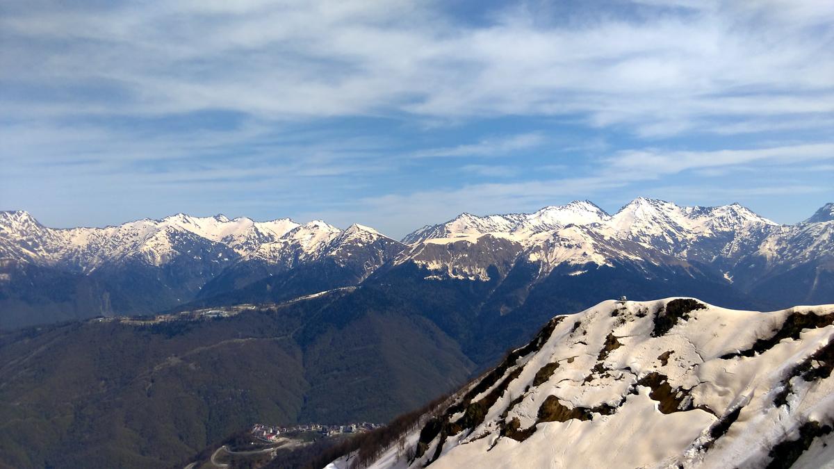 Лучше гор могут быть только горы, На которых еще не бывал. (с)