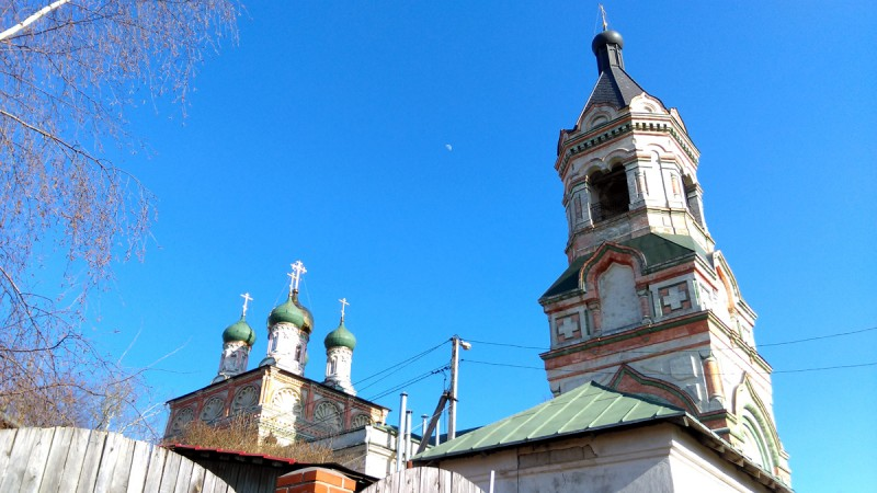 Храм Воскресения Христова в Колычеве, конец XVII века.