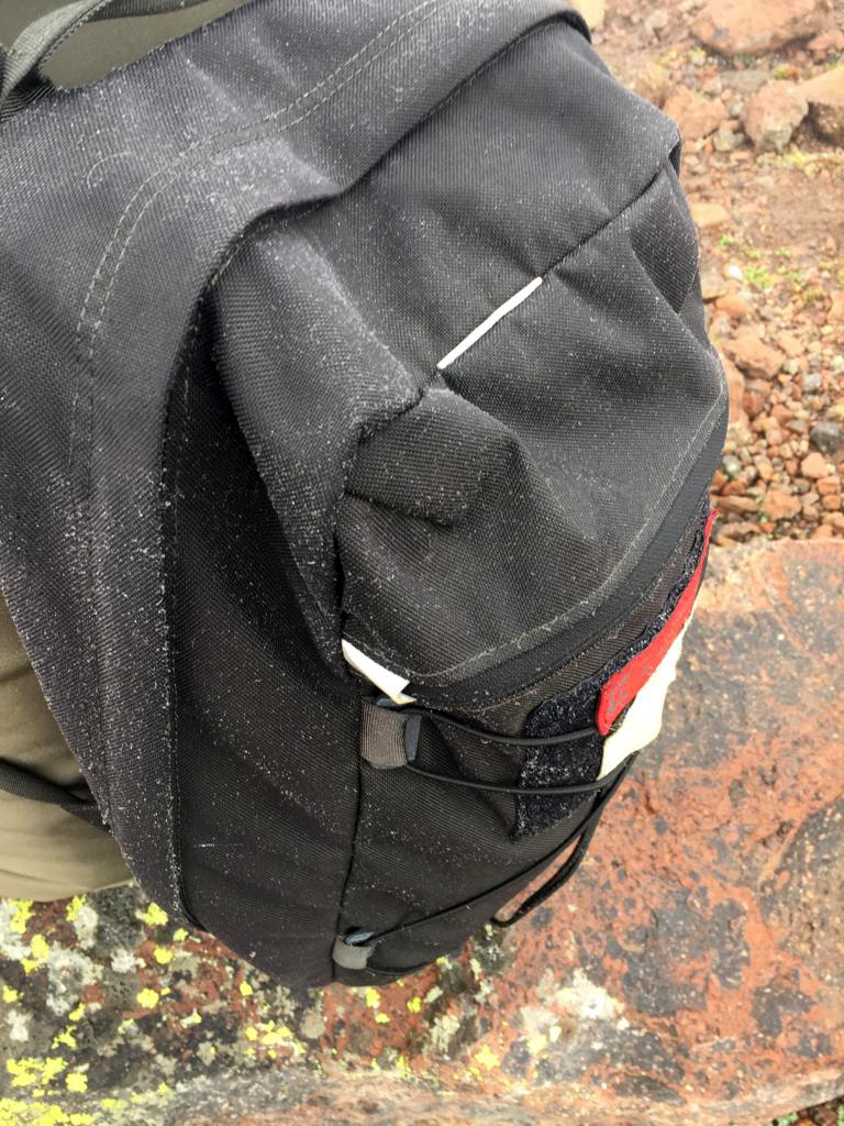 Пар от меня оседает инеем на рюкзаке.