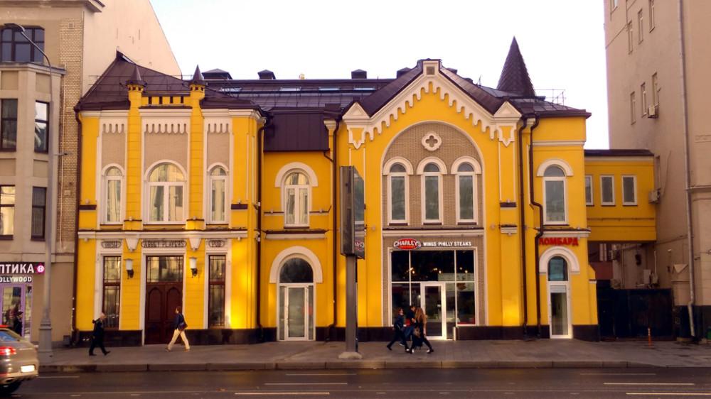 Особняк Э. М. Федотовой. Построен в 1900 г. Архитектор С.Ф. Федотов. С 1923 года вошёл в комплекс родильного дома им. Г. Л. Грауэрмана.