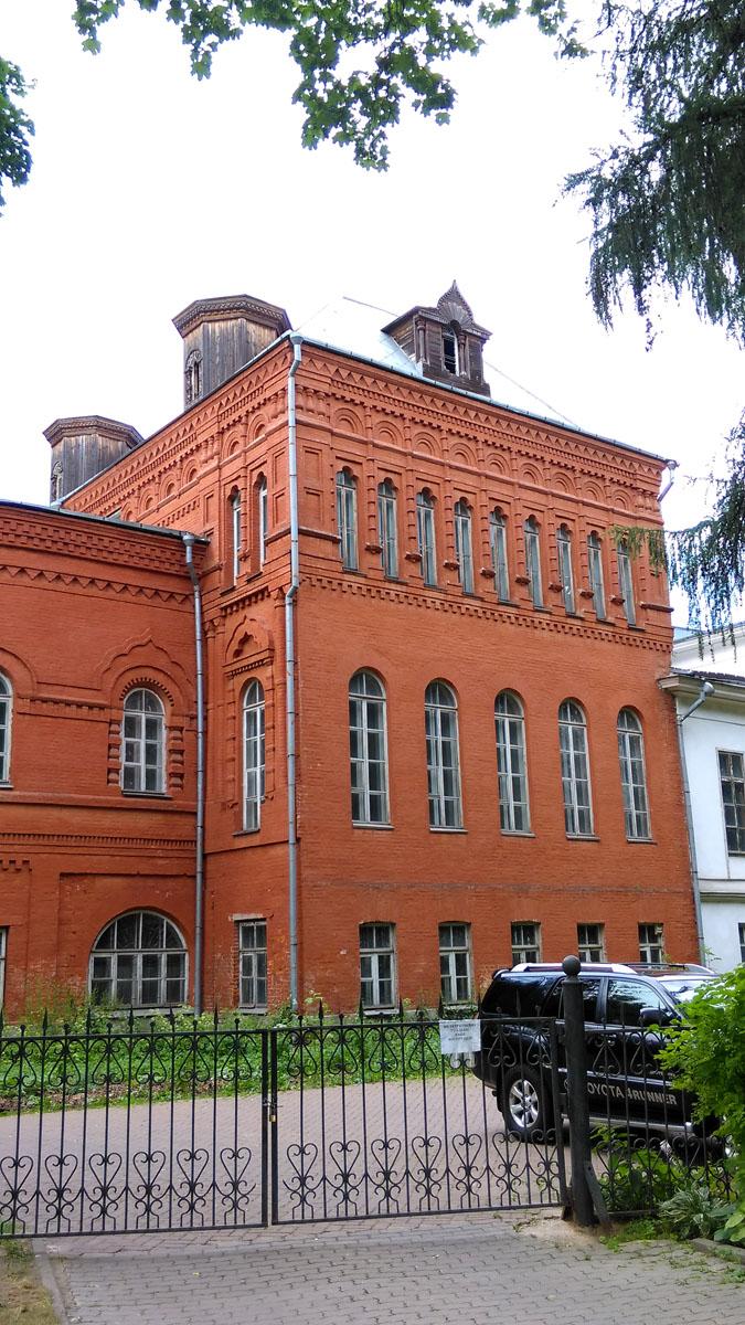 Южный флигель усадьбы. Пристроен к главному дому в 1880-е годы.