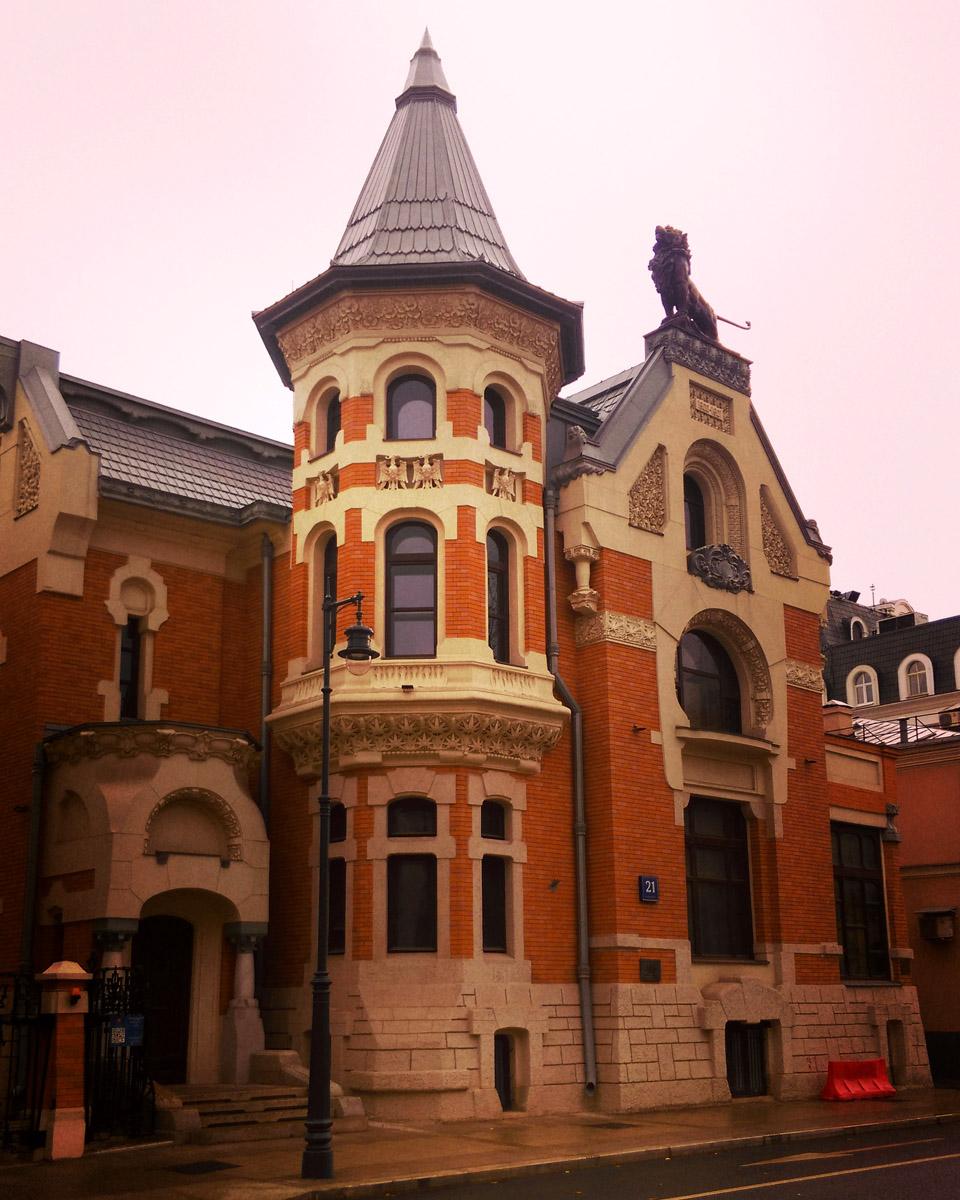 Особняк А. И. Кекушевой построен в 1903 году