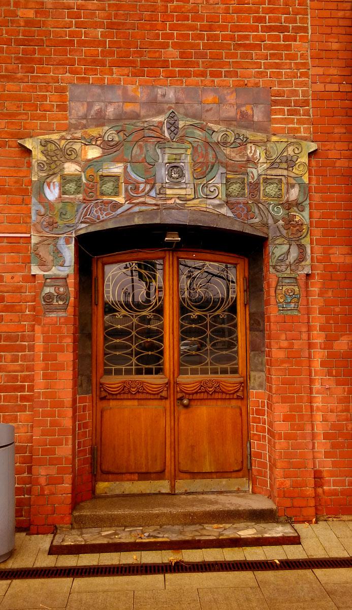 Жилой дом Перцевой много раз его фоткал и каждый раз восхищаюсь его красотой и нахожу новые элементы..