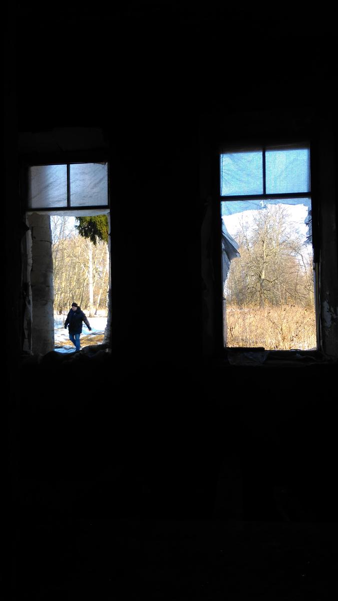 Окна в сад усадьбы