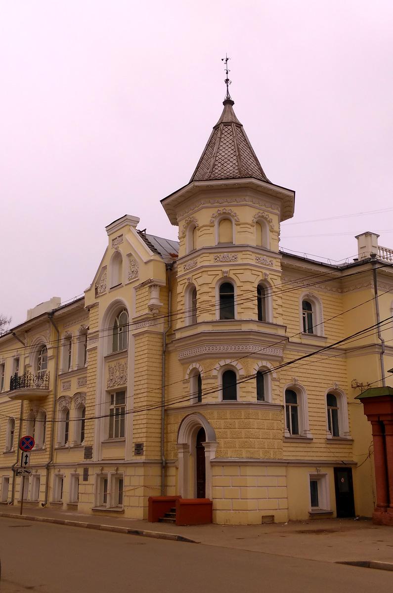 А так Дом купца Павла Лебедева выглядит сегодня.