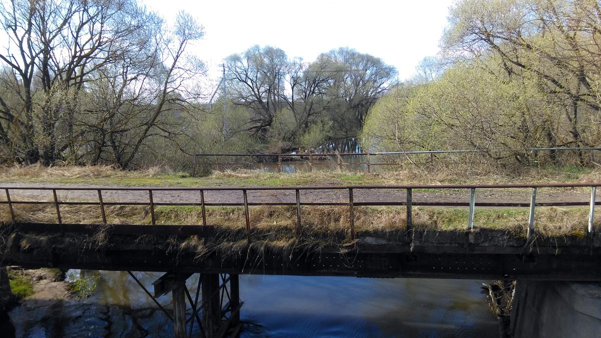 Старый мост сейчас используется, как пешеходный.