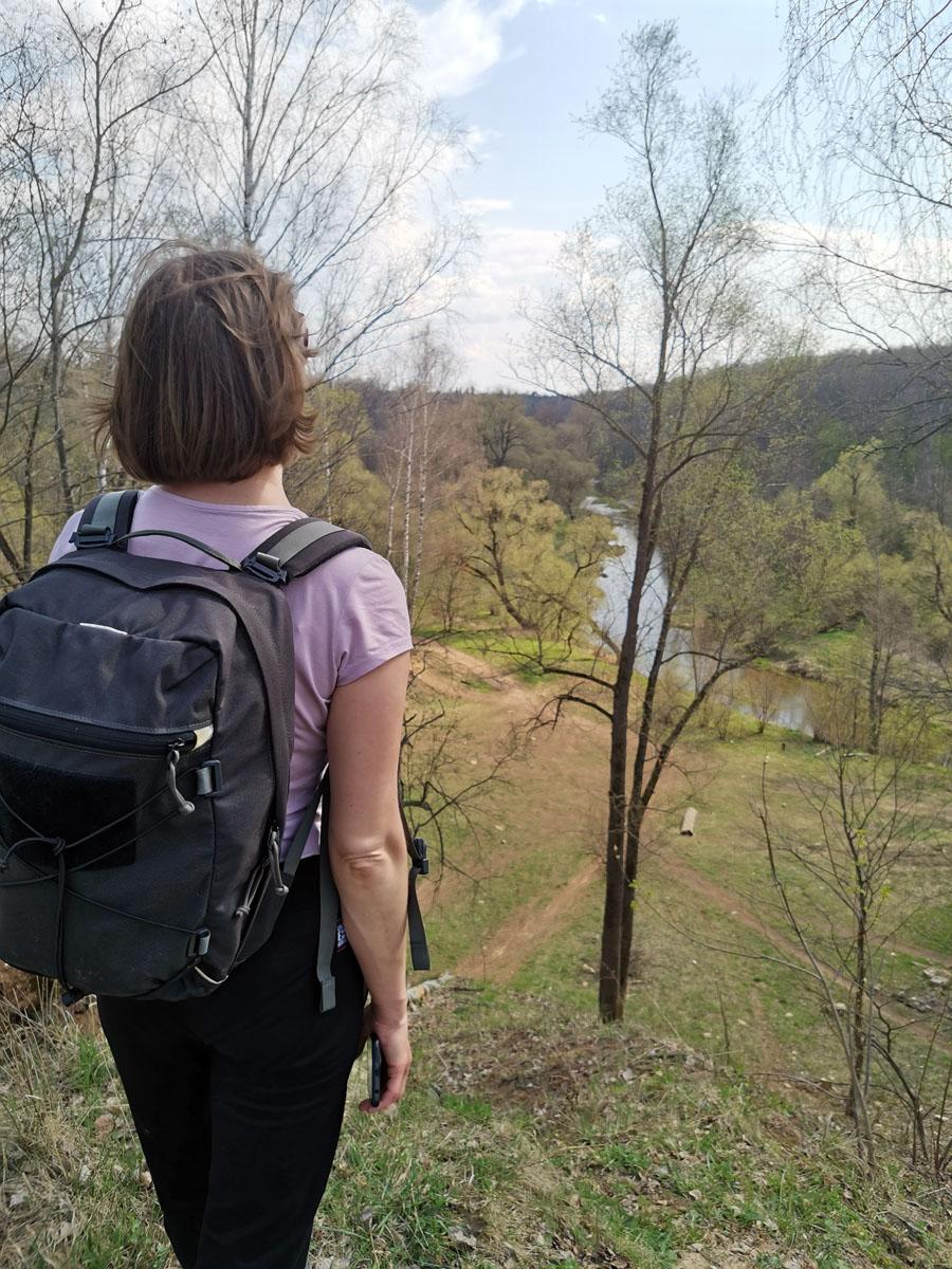 ....И не пожалел. Вид на Рожайку с высоты берега прекрасен.