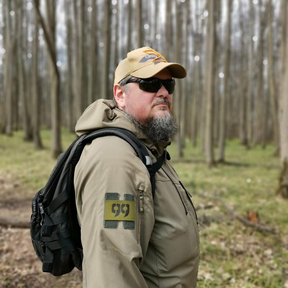 Автор в лесах Подмосковья...
