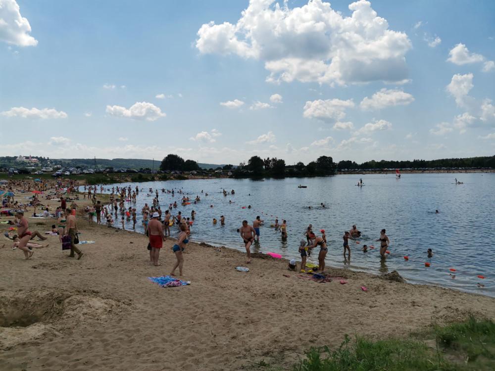 Первые выходные после отмены пропусков в Москве, плюс длинные выходные помноженные на жару...