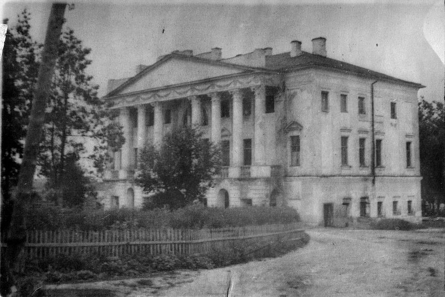 1950-65 год. Здание общежития для работников пущинского отделения совхоза «Большевик»