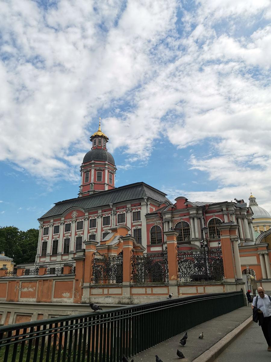 Церковь Благовещения Пресвятой Богородицы и во имя Святого Благоверного Князя Александра Невского - филиал Музея городской скульптуры.