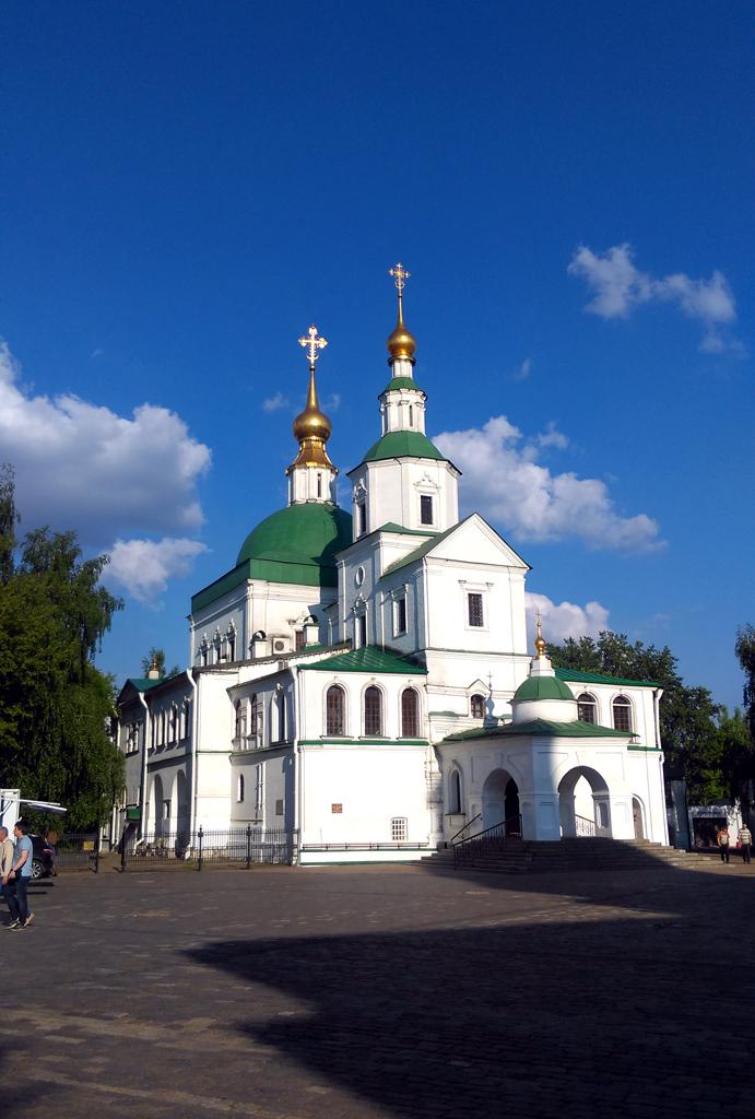 Церковь Святых Отцов Семи Вселенских Соборов Данилова монастыря. Построена в XVII-XVIII вв.
