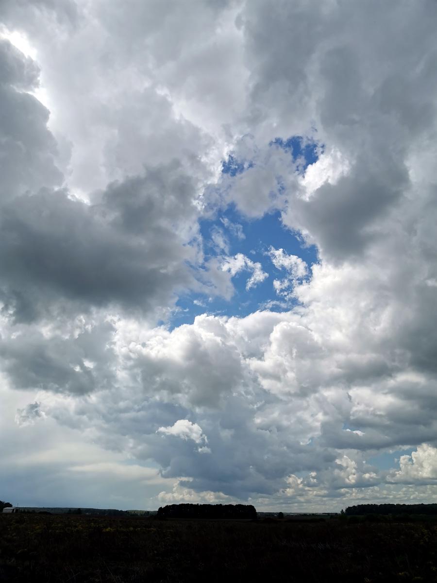 Очень быстро набежали облака...