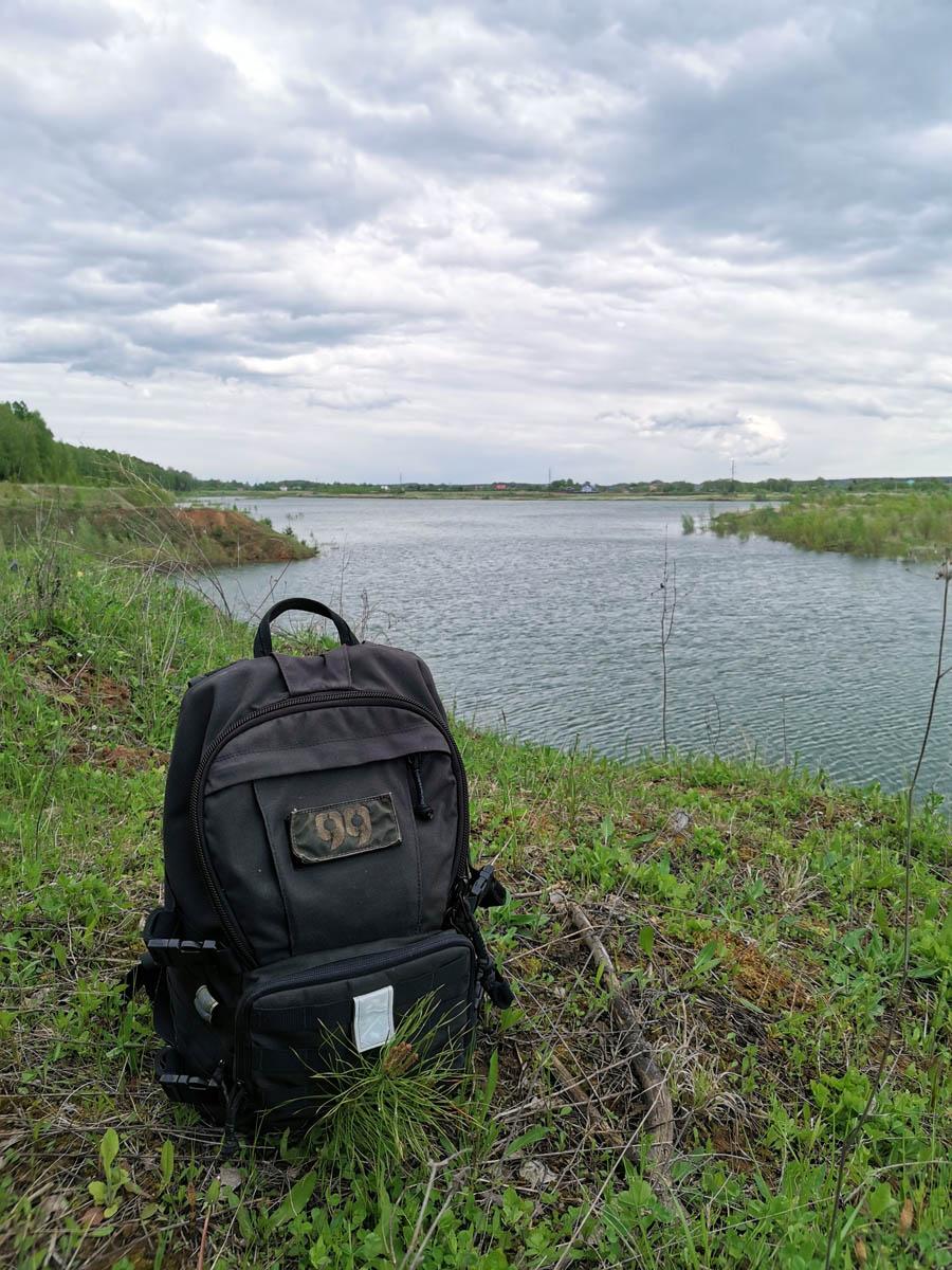"""Традиционно фоткаю в естественной среде обитания один из моих рюкзаков от """"Группа99"""". Модель Т-20 из лимитированной партии."""
