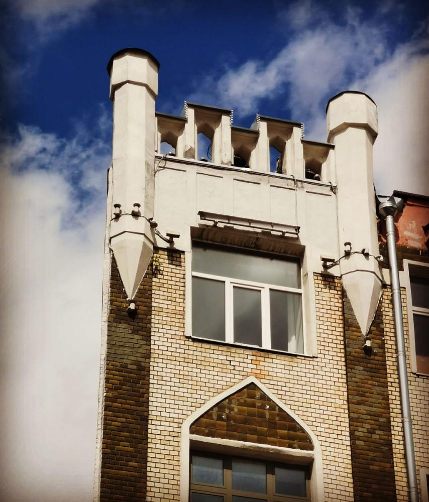 Доходный дом Ф.Т. Кононовой. Построен в 1913 г. В.А. Мазыриным