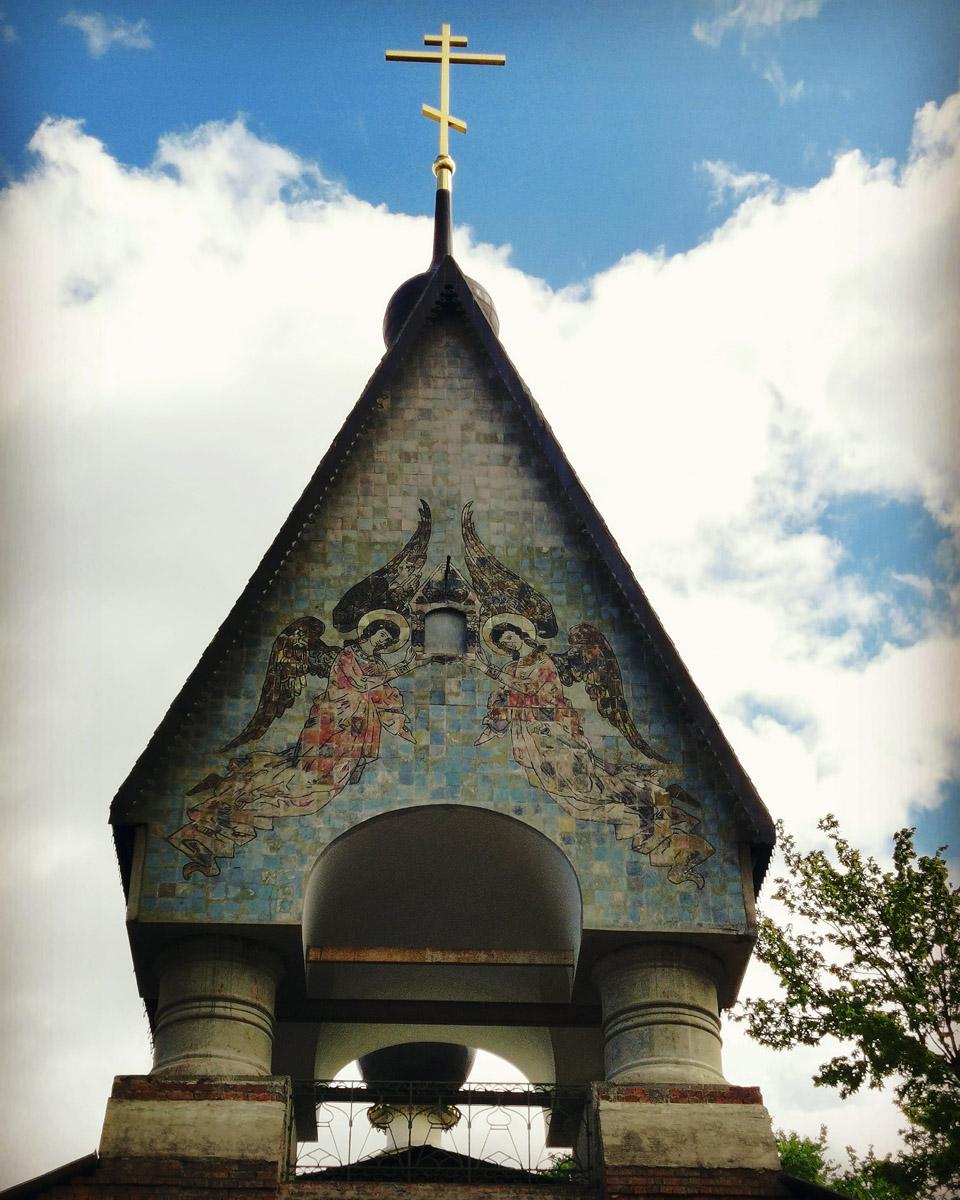 Снова старообрядческий храм и снова работа архитектора Ильи Бондаренко. Старообрядческий храм во имя Воскресения Христова и Покрова Пресвятой Богородицы. Заложен 20 мая 1907 года, освящен 8 июня 1908 года.