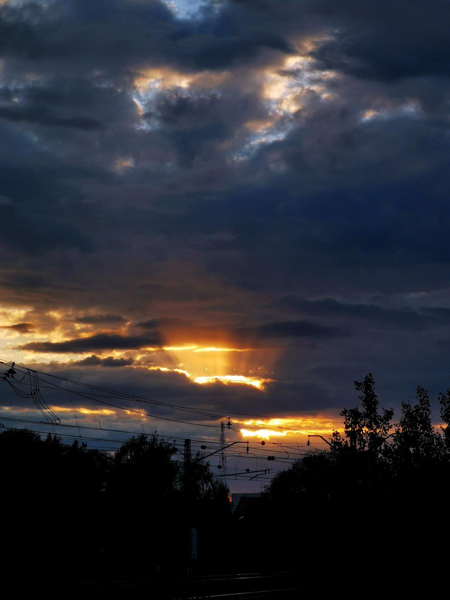 Вечернее небо...