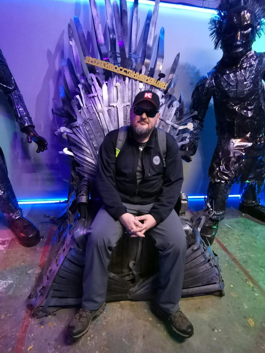 Почувствовал себя королем...