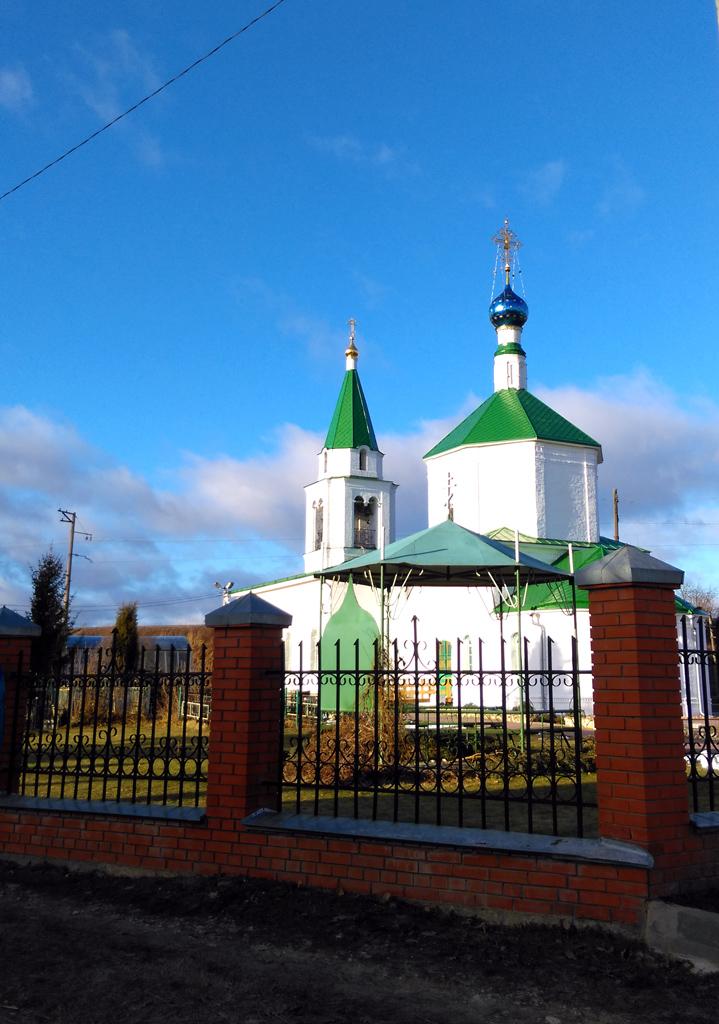 Преображенская церковь XVIII века.