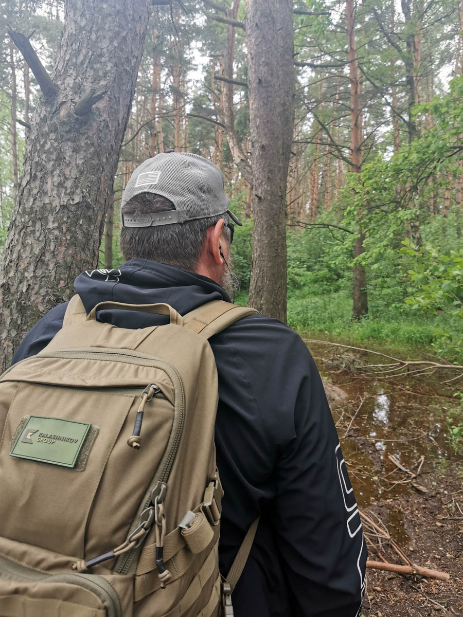 Июнь 2020. Одна из прогулок в лесу после дождя...