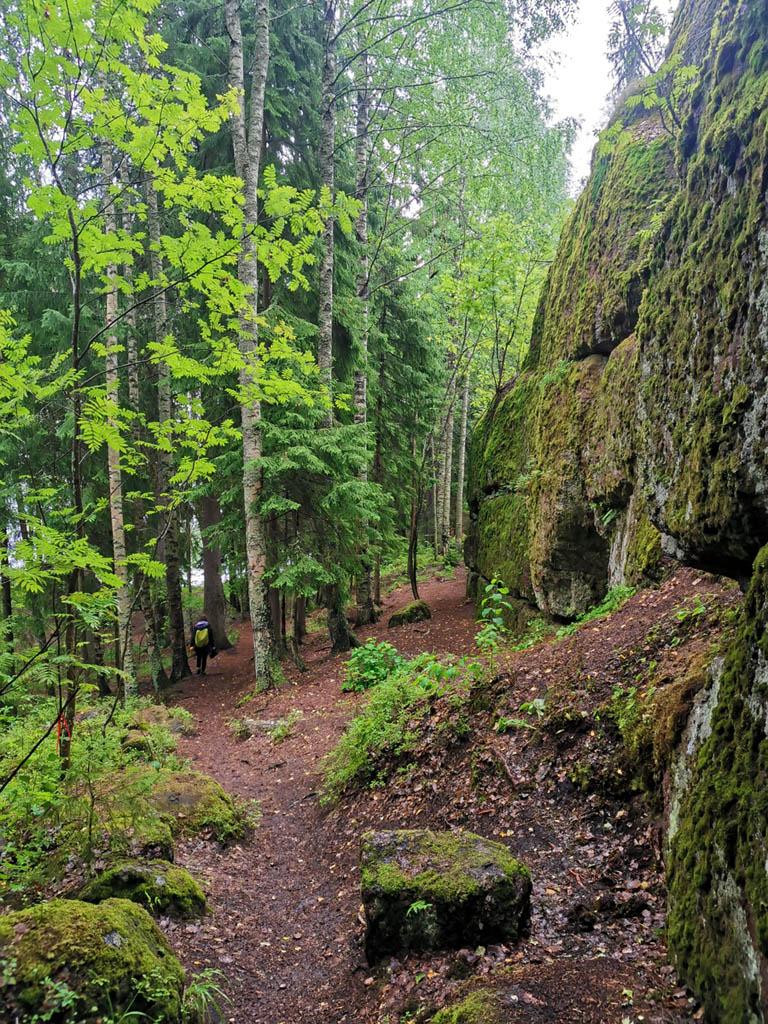 Эко-тропа и скалы...