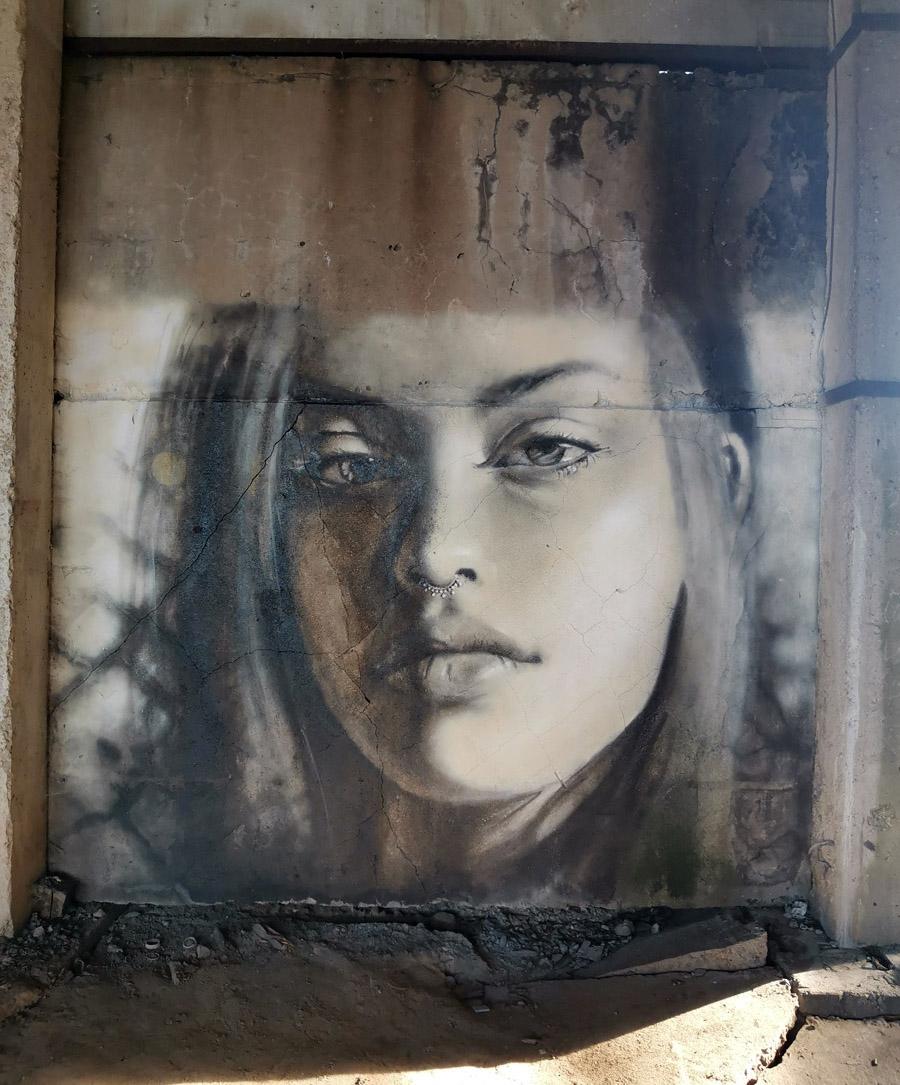 И самая красивая работа. Портрет девушки.