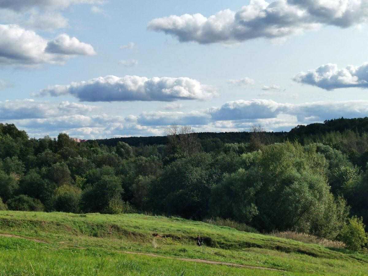 Вид на долину реки Язвенки.