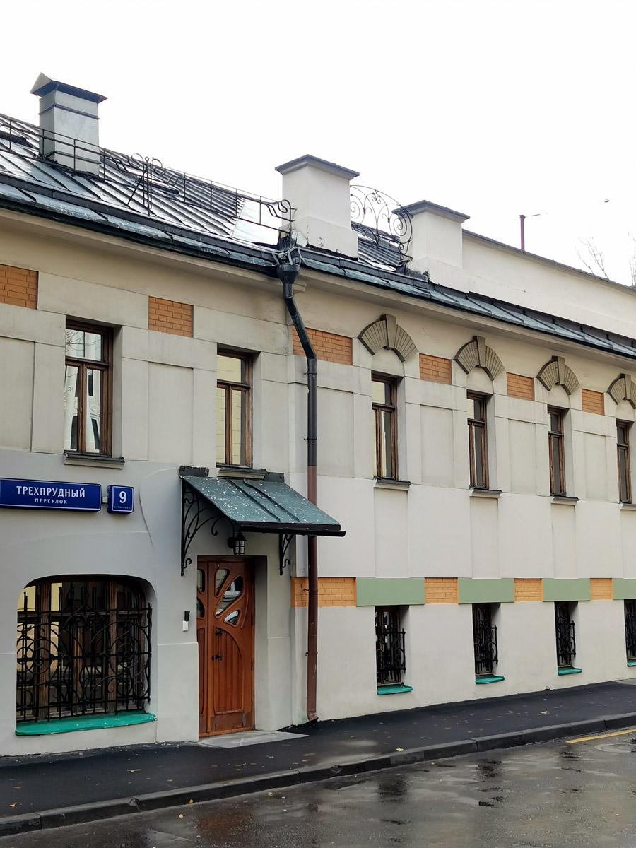 Еще одно здание на территории бывшей типографии.