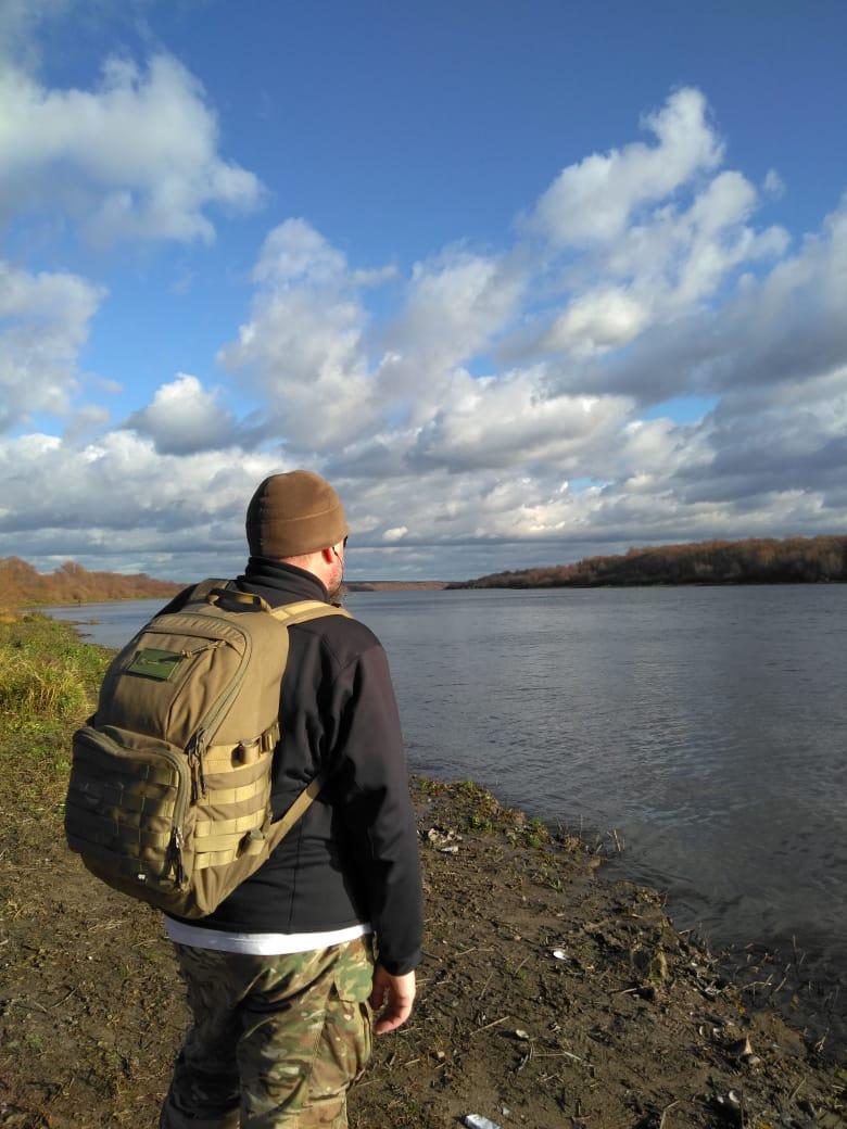 7 ноября 2020. На берегу реки Ока.