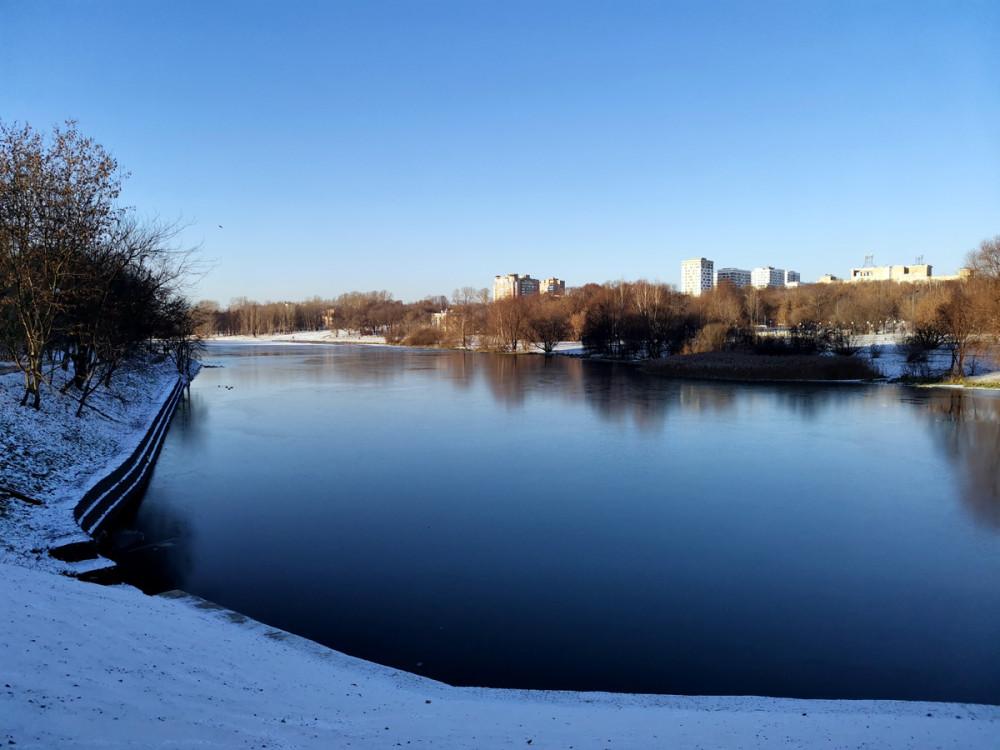 Парк «Люблино». Люблинский пруд.