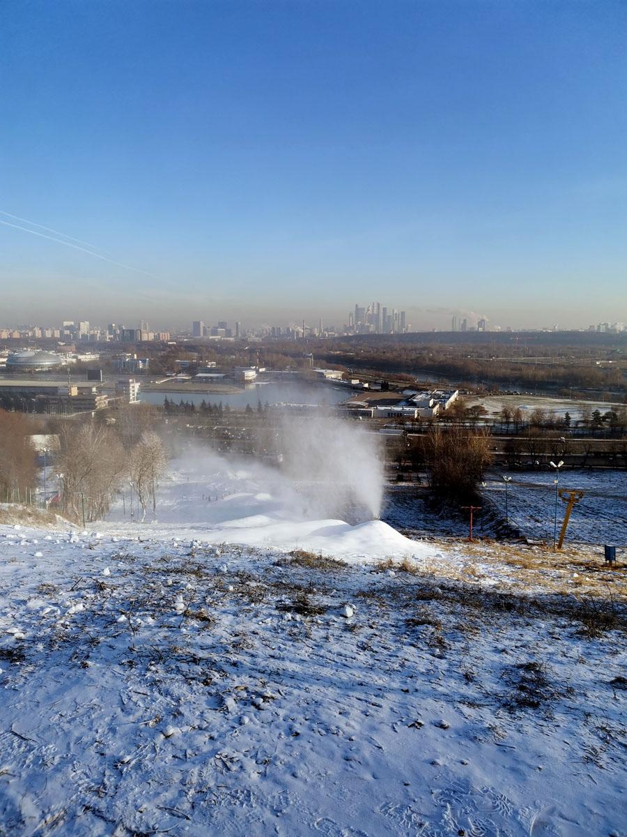 Снежный вулкан