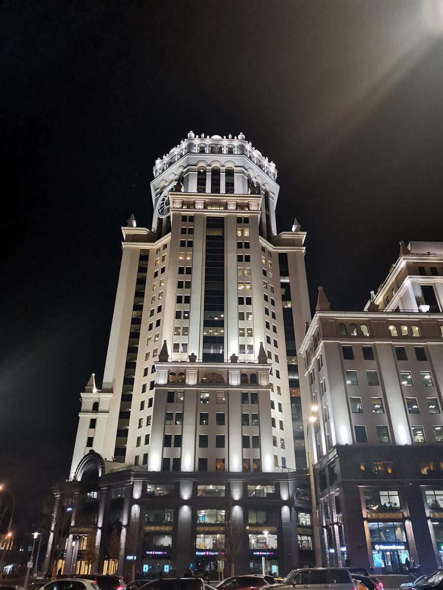 Башня Бизнес-центра «Павелецкая Плаза»