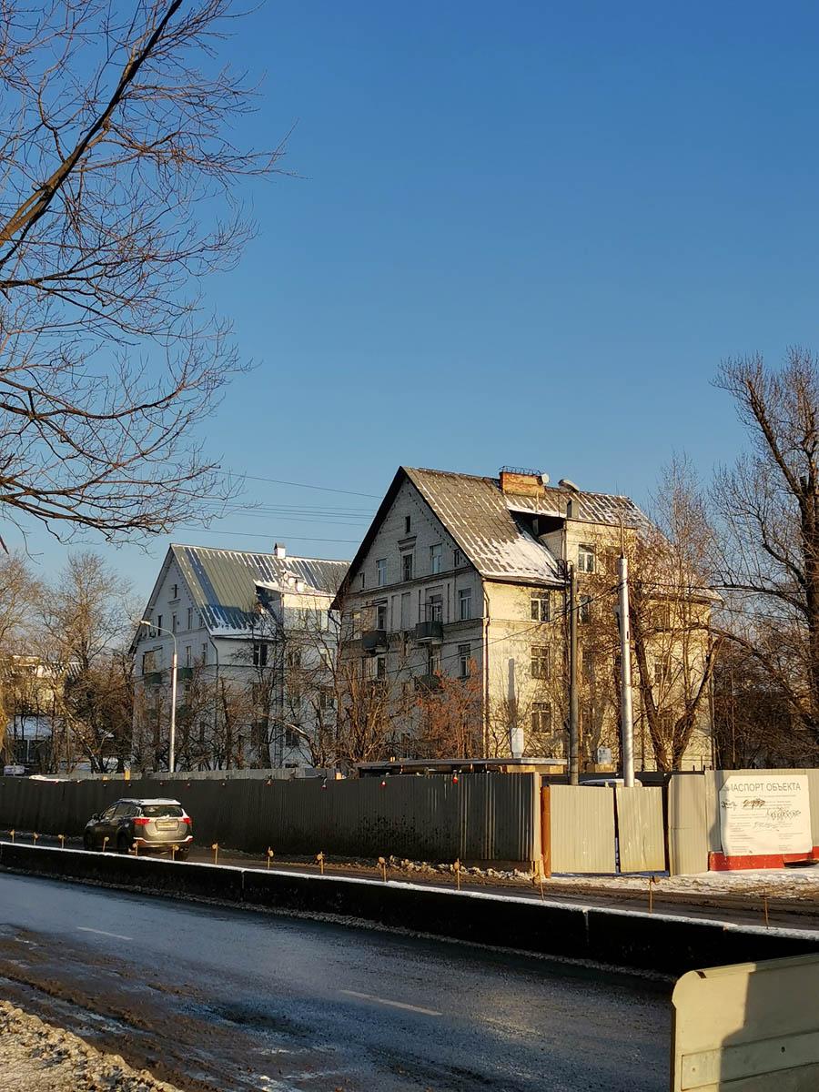 Начали путь от метро Авиамоторная.. Квартал с домами в немецко-прибалтийском стиле типового проекта МГ-1.