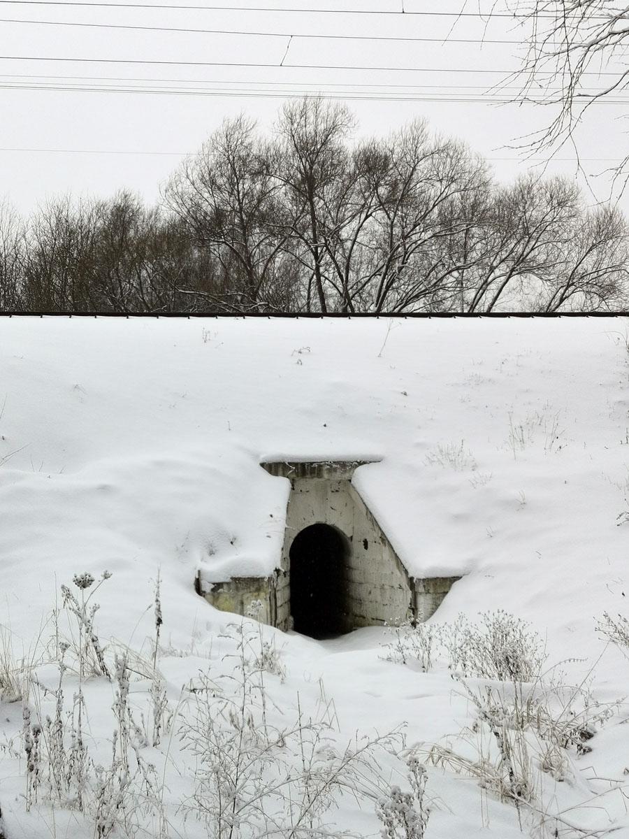 Пешеходный тоннель под жд путями...