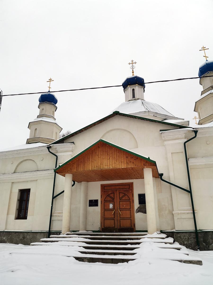 Храм Иоанна Предтечи в селе Данилово.