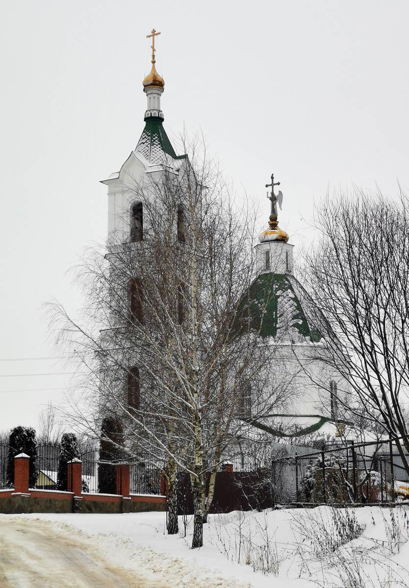 Храм Успения Божией Матери в Успенском.