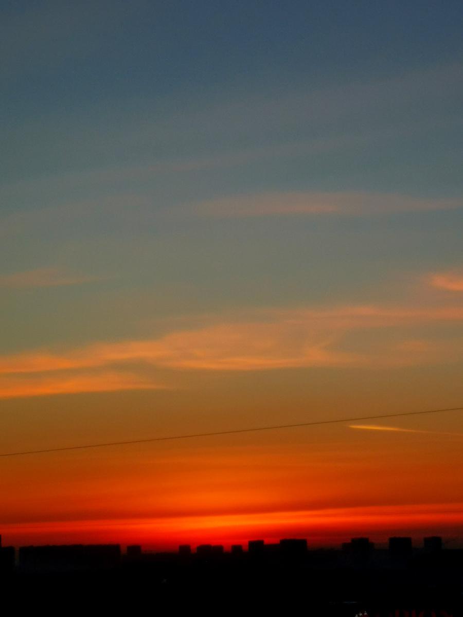 Люблю закаты...