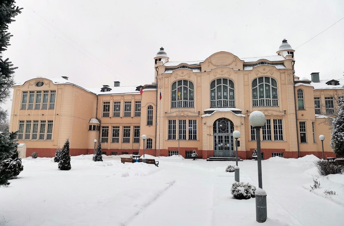 В Ногинске две самые красивые школы в РФ. На фото школа № 2 им. В. Г. Короленко.