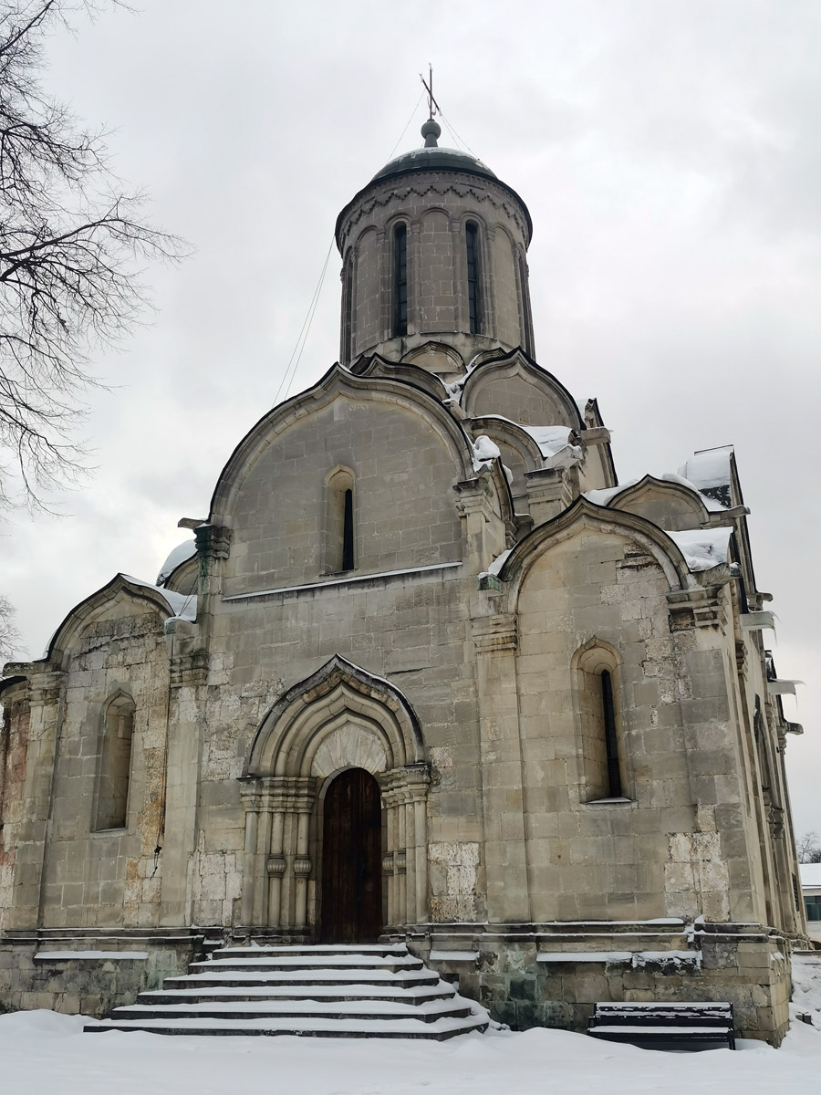 Собор Спаса Нерукотворного Образа Спасо-Андроникова монастыря.