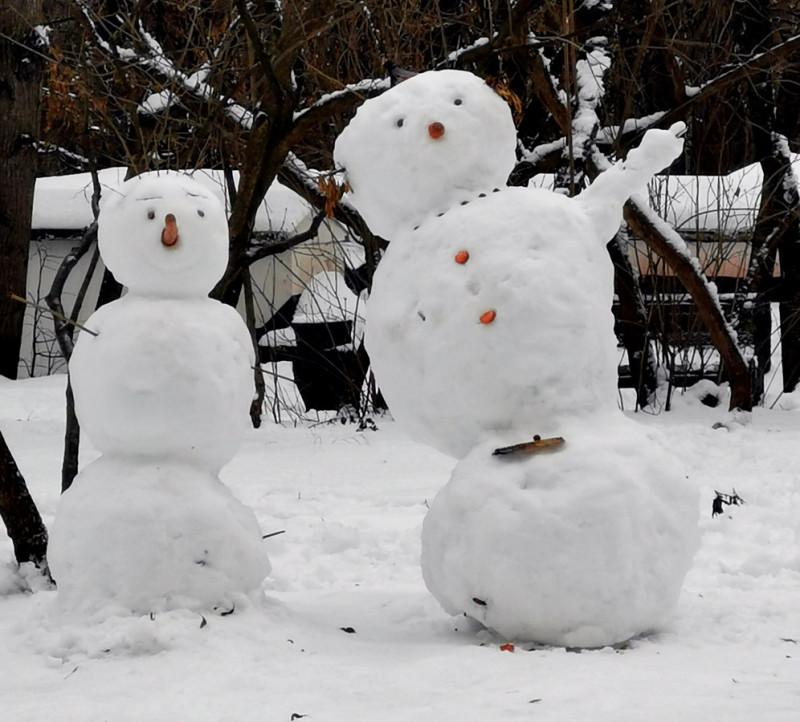 Кстати, 9 января День Снеговика.