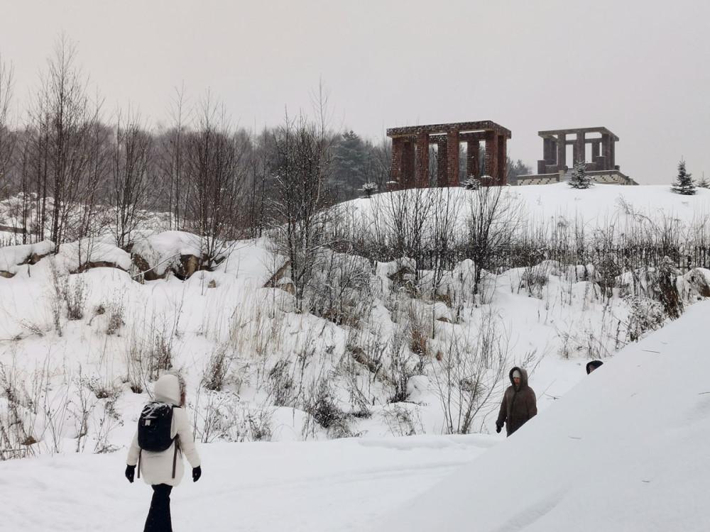 Село Никитское и Домодедовская Пирамида.