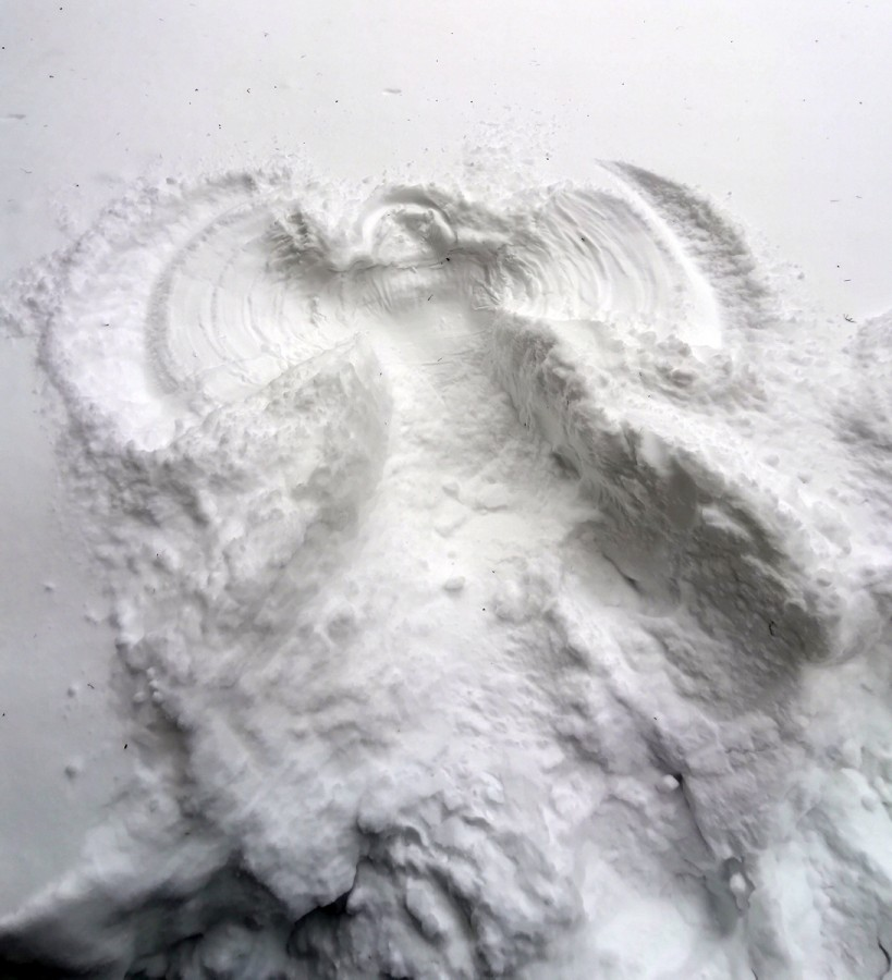 Снежный ангел...