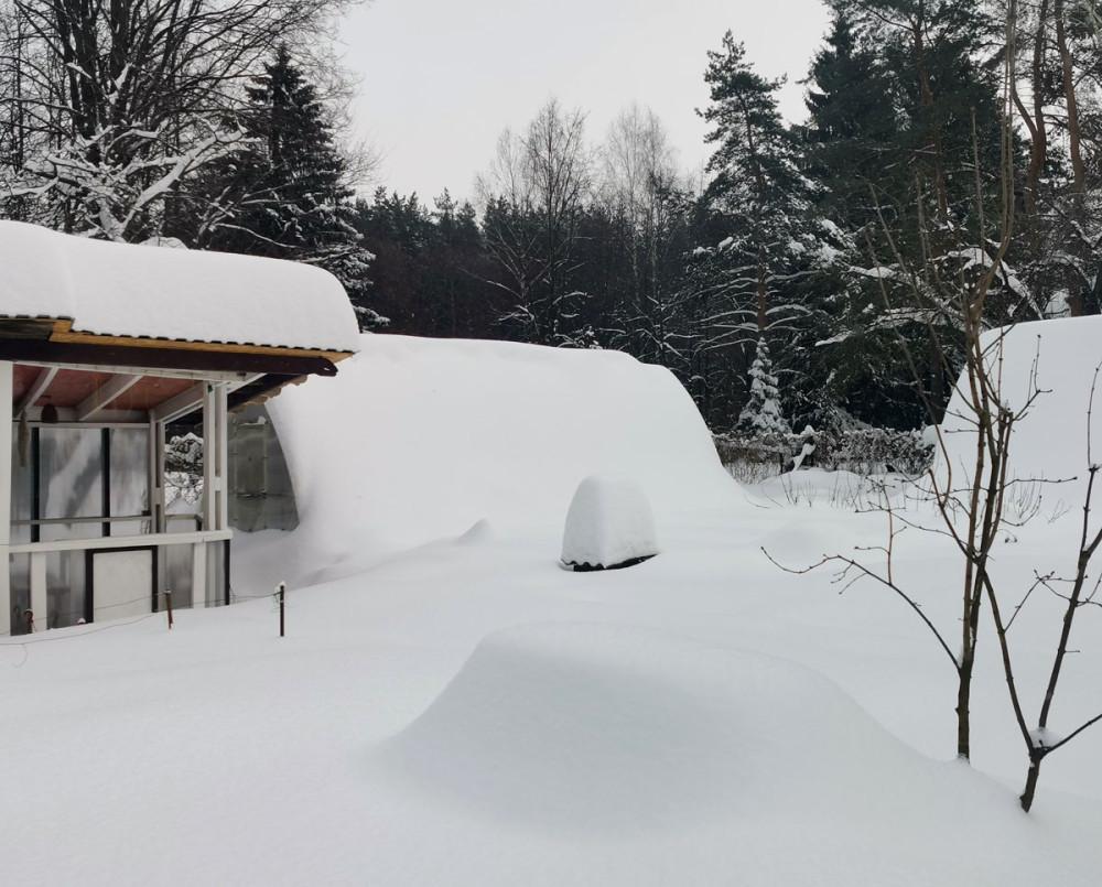 Давно не было такого количества снега...